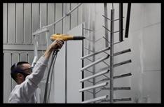 Atelier Noralu Laon : cabine de peinture industrielle
